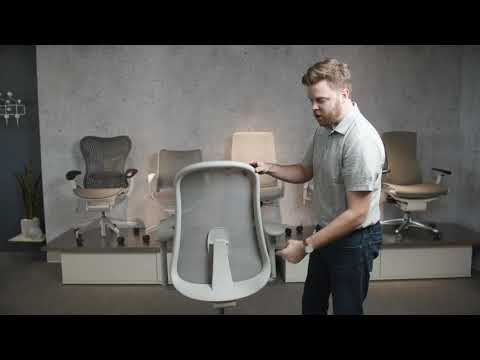 Herman Miller Lino Chair - 60 Second Lino Seating video